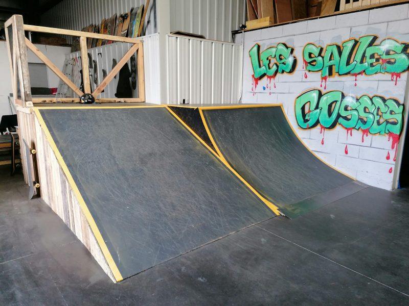 module skatepark indoor les salles gosses