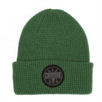 bonnet creature vert